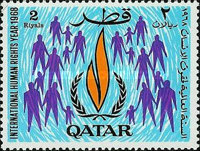 [The 20th Anniversary of Declaration of Human Rights by the United Nations, type DE]