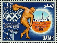 [Olympic Games - Mexico City, Mexico, Typ DU]