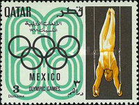 [Olympic Games - Mexico City, Mexico, Typ DW]
