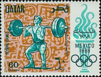 [Olympic Games - Mexico City, Mexico, type DX]