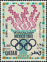 [Olympic Games - Mexico City, Mexico, type DY]