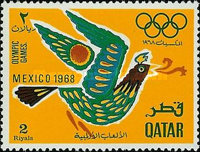[Olympic Games - Mexico City, Mexico, Typ DZ]
