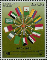 [The 30th Anniversary of Organization of Petroleum Exporting Countries or OPEC, type TH]