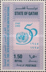 [The 50th Anniversary of the United Nations, Typ XQ]