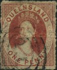 [Queen Victoria - As Previous, Rough Perforation, type A12]