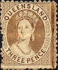 [Queen Victoria - Thick Yellowish Paper, type A20]