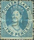 [Queen Victoria - Thick Yellowish Paper, Different Perforation, type A24]