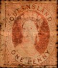 [Queen Victoria - White Paper, Watermarked, type A28]