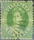 [Queen Victoria - White Paper, Watermarked, type A30]