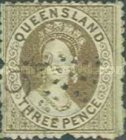 [Queen Victoria - New Watermark, type A40]
