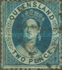 [Queen Victoria - Different Perforation, type A49]