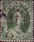 [Queen Victoria - Perforated, type A5]