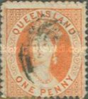 [Queen Victoria - Different Perforation, type A54]