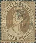 [Queen Victoria - Different Perforation, type A67]