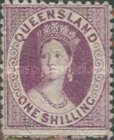 [Queen Victoria - Different Perforation, type A71]
