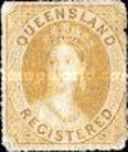 [Queen Victoria - Registered Stamp, type B]