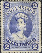 [Queen Victoria - Thick Paper, New Watermark, type G10]