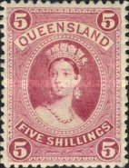 [Queen Victoria - Thick Paper, New Watermark, type G12]