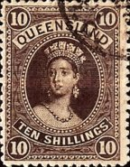 [Queen Victoria - Thick Paper, New Watermark, type G13]