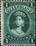 [Queen Victoria - Thin Paper, type G4]