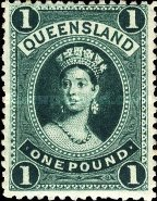 [Queen Victoria - Thick Paper, Different Watermark, type G9]