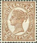 [Queen Victoria - Different Perforation, type Q20]