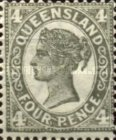 [Queen Victoria - Different Perforation, type Q21]