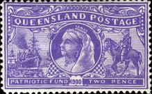 [Patriotic Fund - Queen Victoria and Scenes from the Boer War, Typ X]