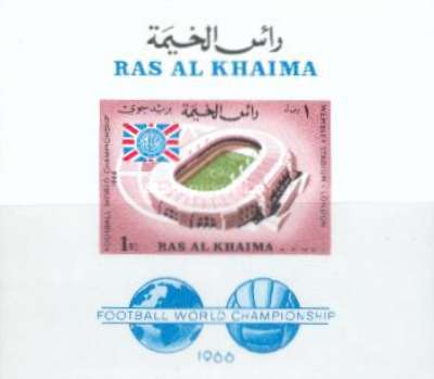 [Airmail - England Champions in Football World Cup 1966 - England, Typ ]