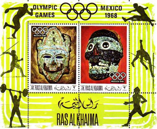 [Airmail - Olympic Games - Mexico City 1968, Mexico, Typ ]