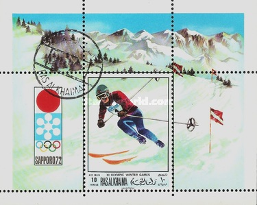 [Airmail - Winter Olympic Games - Sapporo, Japan 1972, Typ ]