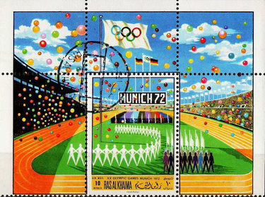 [Airmail - Olympic Games - Munich 1972, Germany, Typ ]