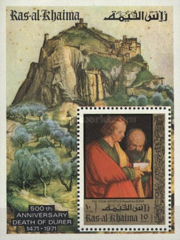 [Airmail - The 500th Anniversary of the Birth of Albrecht Durer, 1471-1528, Typ ]