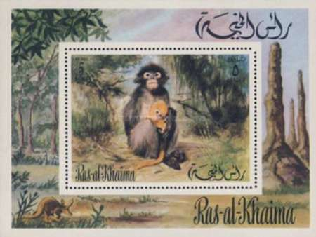 [Airmail - African Animals, Typ ]