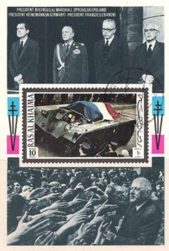 [Airmail - Charles de Gaulle, French General and Politician, Typ ]
