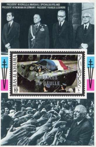 [Airmail - Charles de Gaulle Commemoration, Typ ]