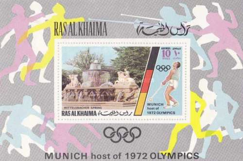 [Airmail - Olympic Games - Munich, Germany - Munich Buildings, Typ ]