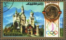 [Olympic Games - Munich, Germany - Famous Buildings of Different Countries, Typ AAN]