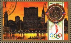 [Olympic Games - Munich, Germany - Famous Buildings of Different Countries, Typ AAR]