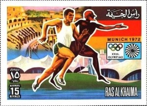 [Airmail - Olympic Games -  Munich, Germany, Typ ABB]