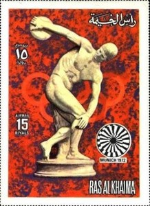 [Airmail - Olympic Games -  Munich, Germany, Typ ABC]