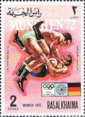 [Airmail - Olympic Games -  Munich, Germany - Ancient Sports / Modern Sports, Typ ABK]