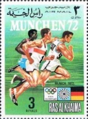 [Airmail - Olympic Games -  Munich, Germany - Ancient Sports / Modern Sports, Typ ABM]