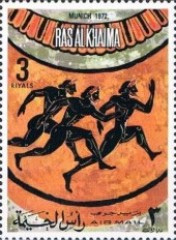 [Airmail - Olympic Games -  Munich, Germany - Ancient Sports / Modern Sports, Typ ABN]
