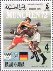 [Airmail - Olympic Games -  Munich, Germany - Ancient Sports / Modern Sports, Typ ABO]