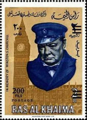 [Winston Churchill Commemoration, 1874-1965, Typ BF]