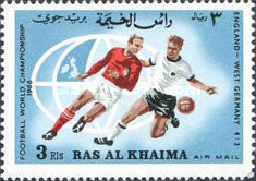 [Airmail - England Champions in Football World Cup 1966 - England, Typ DO]