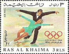 [Airmail - Winter Olympic Games - Grenoble, France, Typ FV1]