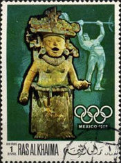 [Airmail - Olympic Games - Mexico City, Mexico, Typ HN]