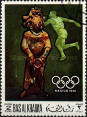 [Airmail - Olympic Games - Mexico City, Mexico, Typ HO]